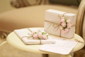 Günstige Hochzeit und trotzdem ein voller Erfolg - Geschenke