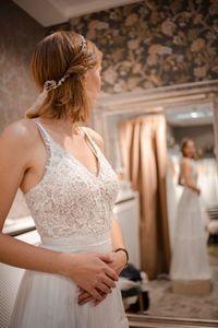 Das Brautkleid kann Kosten sparen