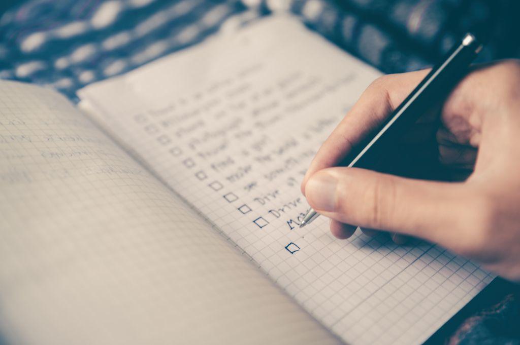Die Checkliste für die Hochzeit - Beitrag