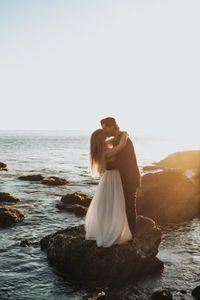 Hochzeitslocation - Am Meer geküsst
